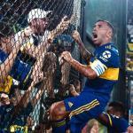 Carlos Tévez celebró a lo grande el título de Boca