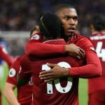 Sturridge y Mané se abrazan tras un gol (Liverpool FC)