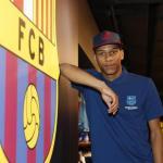 Todibo, con el Barcelona / twitter