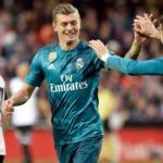 Toni Kroos durante un encuentro de Liga con el Real Madrid. Foto: Youtube.com