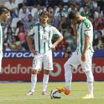 El Córdoba al consumar su descenso a Segunda B. / lavozdecadiz.com