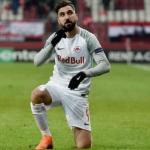Munas Dabbur, con el Red Bull Salzburgo / Sevilla FC.
