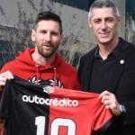 La única vía para que Messi vuelva a Newell´s a corto plazo. Foto: America TV