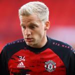 Van de Beek quiere irse del Manchester United / Teamtalk.co.uk