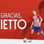 Vietto deja dinero inesperado para el Atlético / Atleticodemadrid.com
