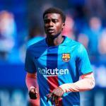 La oportunidad que tanto esepraba Wagué en el Barcelona / Twitter