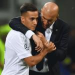 """Zidane abre los ojos """"Foto: OK Diario"""""""